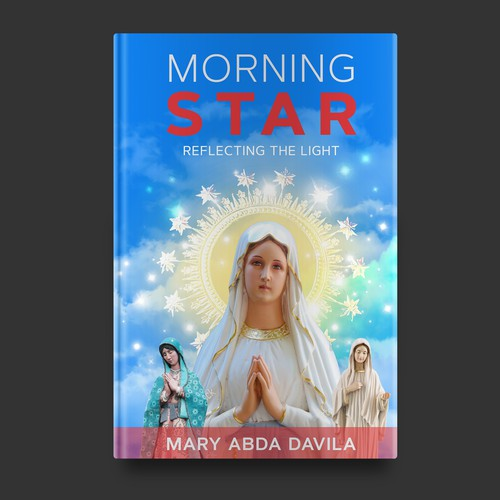 Morning Star Book Cover Design concept