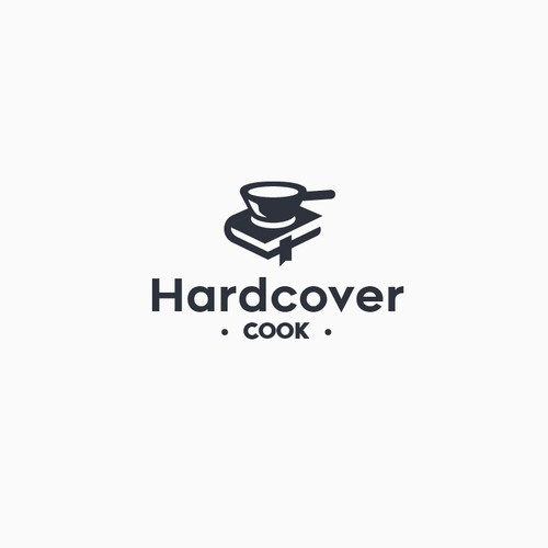 Book and cook - Conceptual logo
