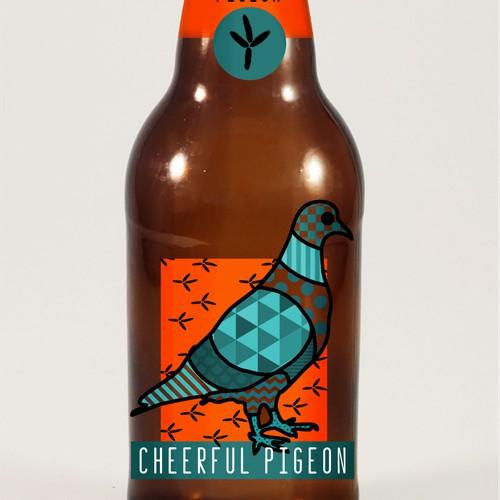 Cheerful Pigeon