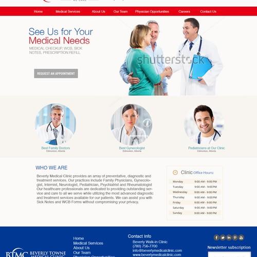 doctor website design