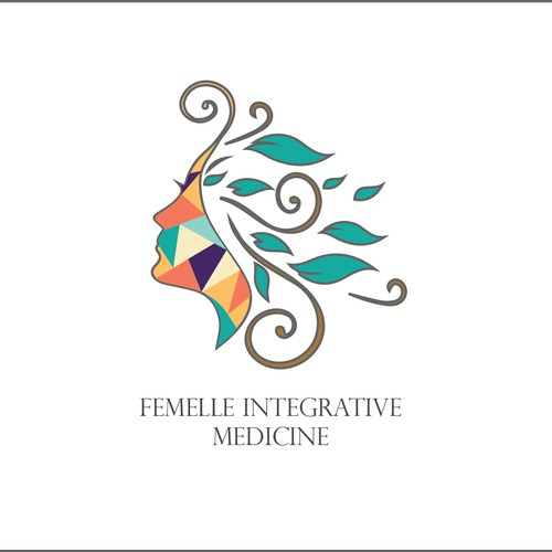 Logo concept for a Bohemian Medicine