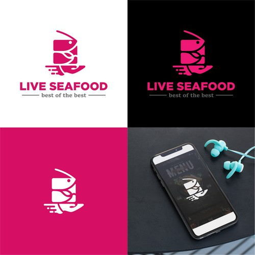Logo for Seafood delivery service