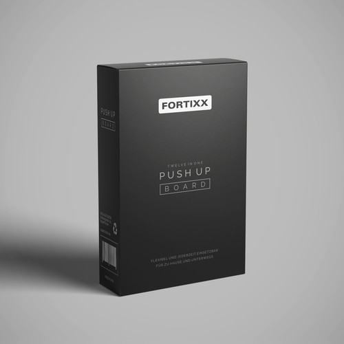 Premium Packaging design concept for a Sport Product