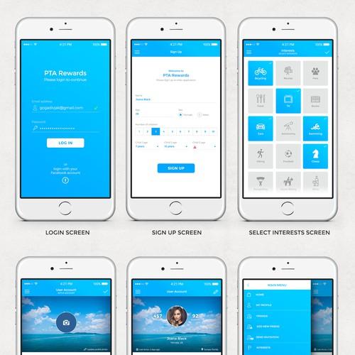 Cashback mobile app