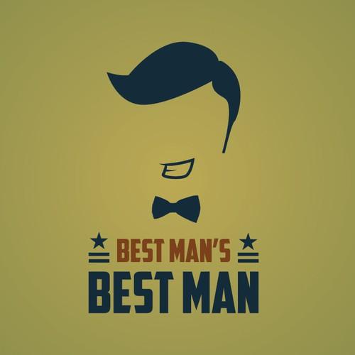 """Logo for """"Best Man's Best Man"""" - an online blog"""