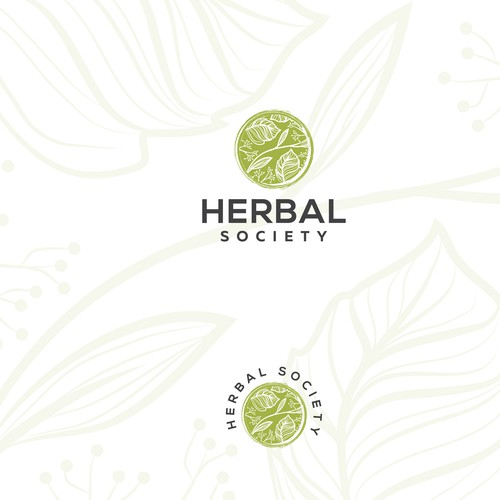Logo design for Herbal Society