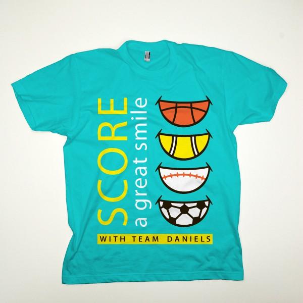 Fun Orthodontic T-Shirt Design