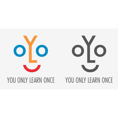 Create a fun logo for education software for Children - YOLO