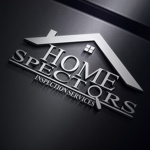 Simple home inspection company logo needs updating.
