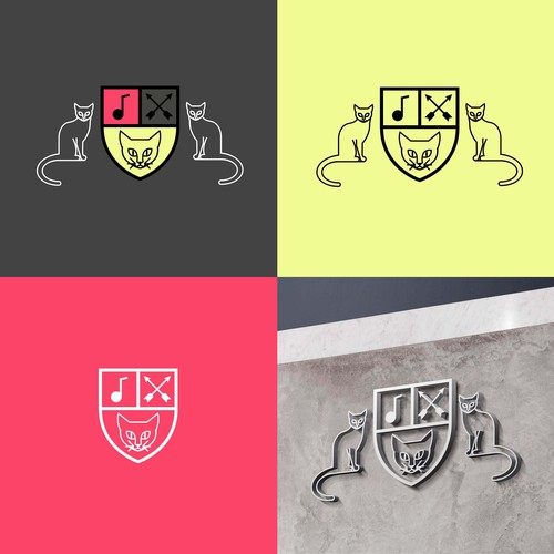 Modern Logo Concept for a Coat of Arms