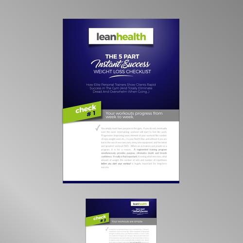 Diseño de PDF para un Entrenador personal