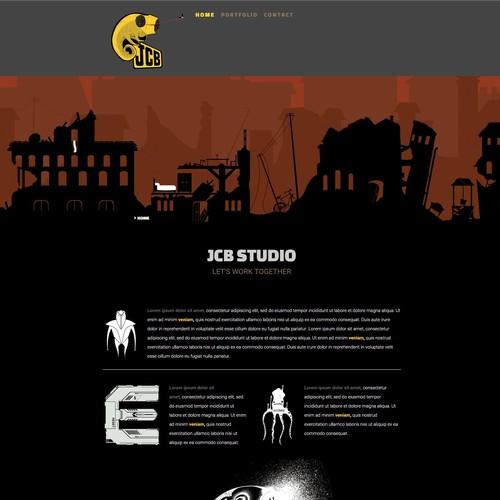 JCB web design