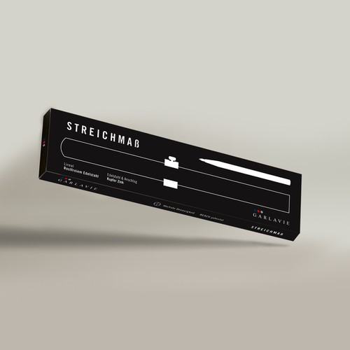 Packaging Design for Streichmaß