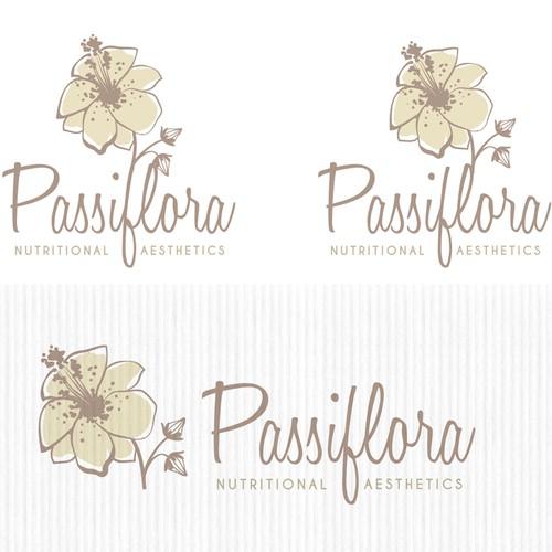 Creative logo concept for nutritional aesthetic