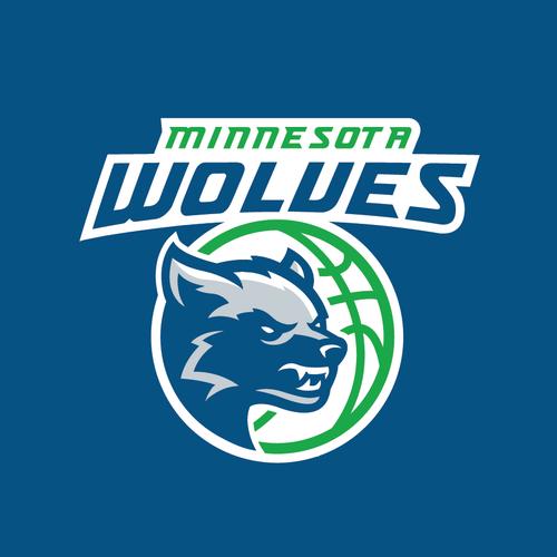 Wolf Logo for Minnesota