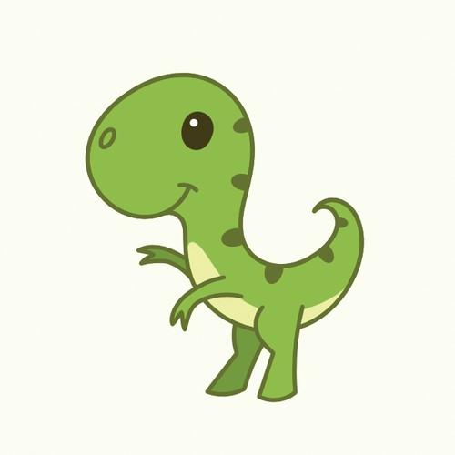 Cute T-Rex mascot