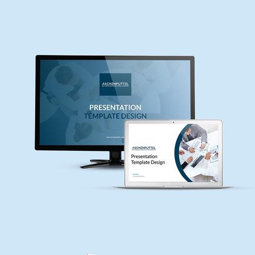 Aschenputtel Presentation Design