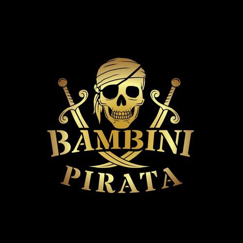 BAMBINI PIRATA logo design