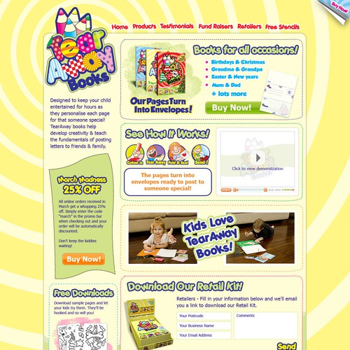 TearAway Books Website