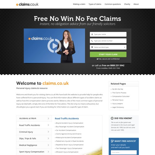 Increase conversion by creating a fun, easy to use site!