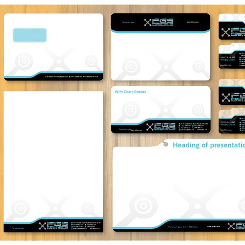 New stationery, Business Card, Powerpoint and Word Template wanted for FGS