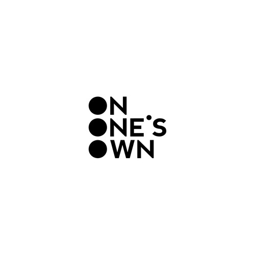 logo design for ON ONE'S OWN