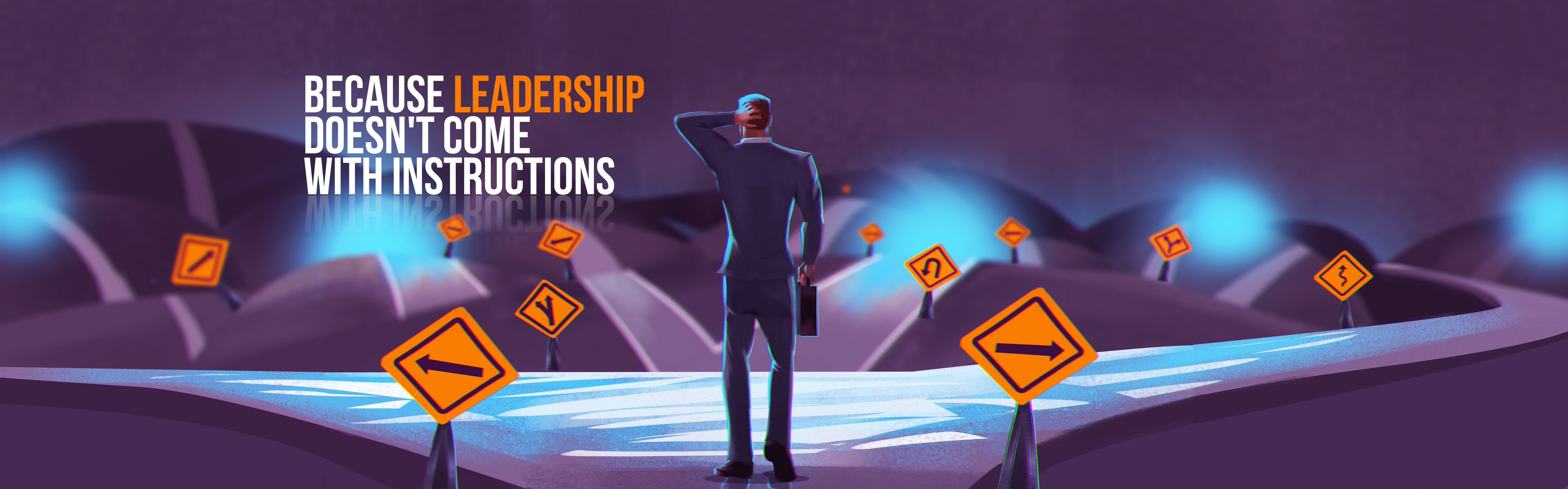 Design powerful and creative illustration for executive coaching firm's website
