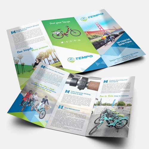 tri-fold for an ebike rental fleet program