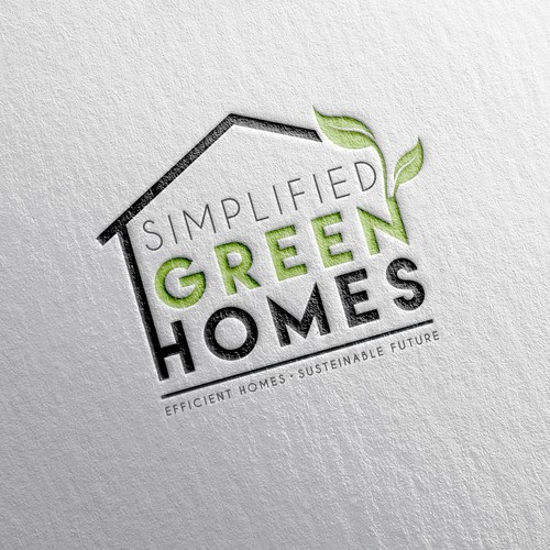 Logo Concept - Simplified Green Homes