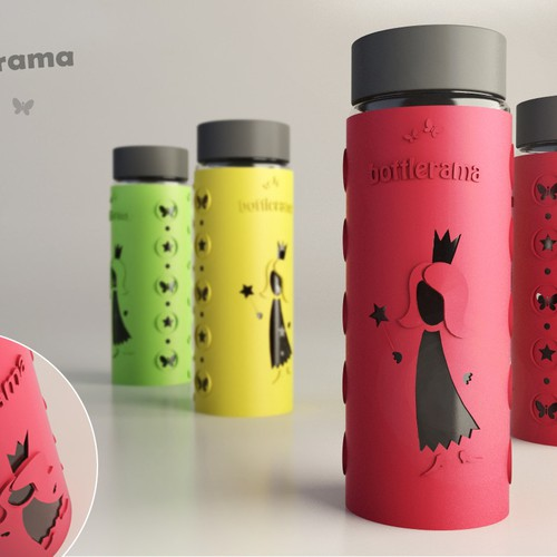 Create the next amazing princess to feature on a new water bottle