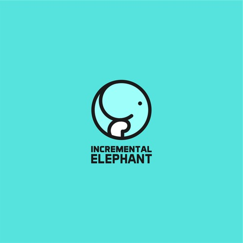 logo for incremental elephant