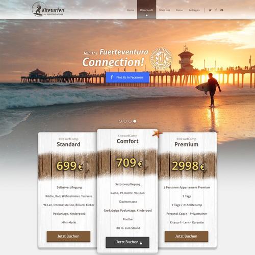 Beautiful Design For Kitesurf Company