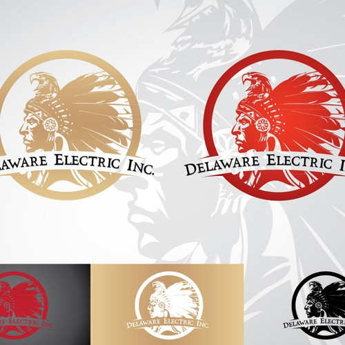 Create the next logo for Delaware Electric Inc.