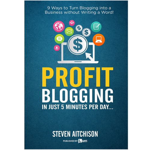 Book cover for blogging