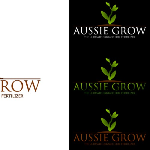 create a standout design for AUSSIE GROW