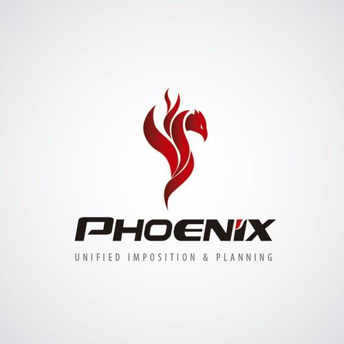Create clean modern logo for Phoenix desktop app