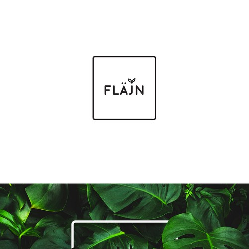 Logo design for Flajn - finalist