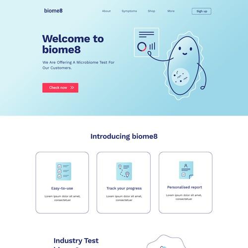 Website design biome
