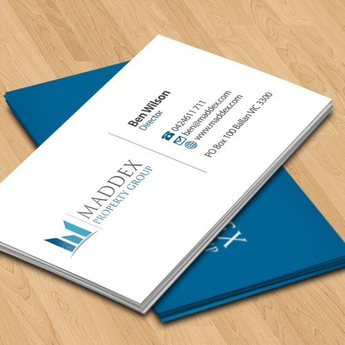 Maddex Property Group needs a new stationery
