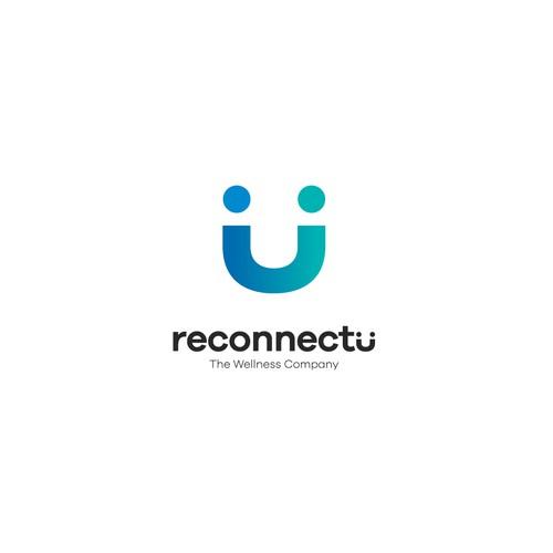 reconnectu, a wellness company logo