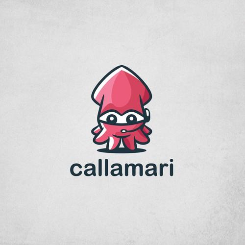 Calamari Mascot