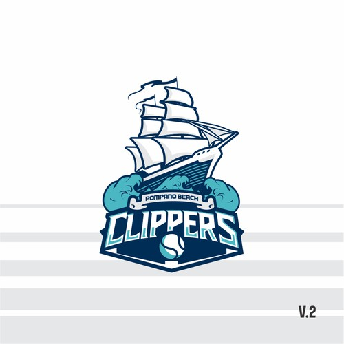 Clippers - sport logo