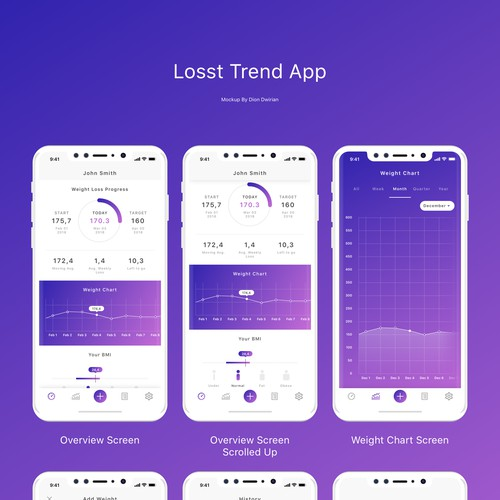 Lost Trend App