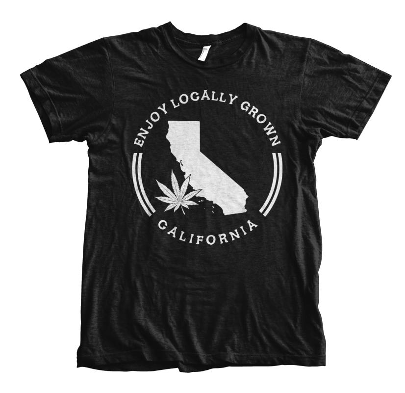 Design a shirt for locally grown cannabis
