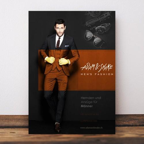 flyer for men style
