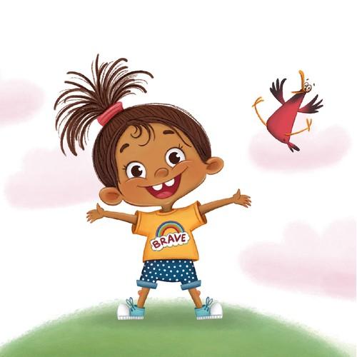 Children's book about children's emotions.
