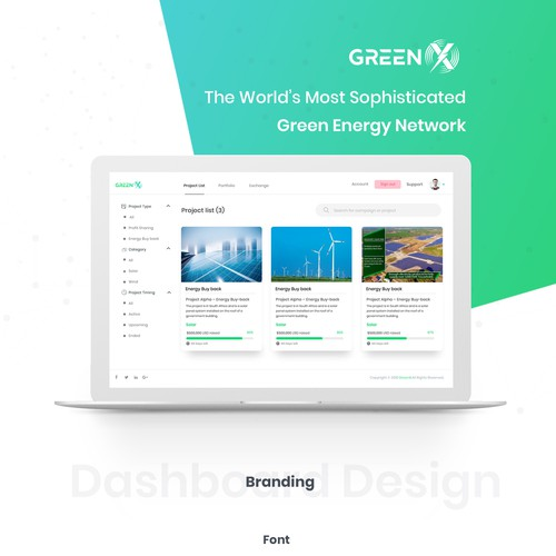 Hi-Tech Web Design - GreenX