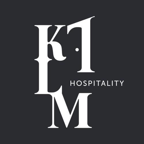 Elegant calligraphic logo