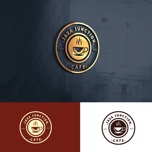 Logo for java junction coffee