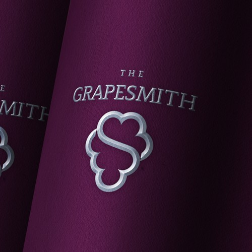 Logo proposal for a winemaker who focuses on grape quality to produce premium wines.